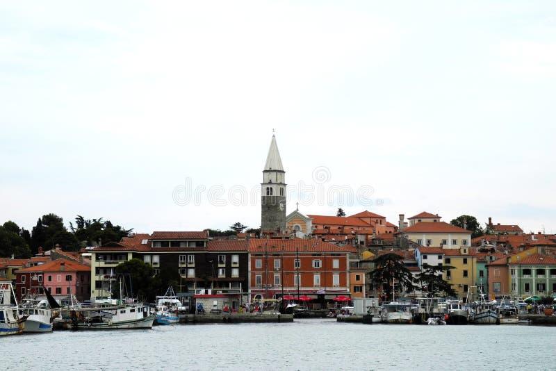 Словенский город Piran стоковые изображения rf