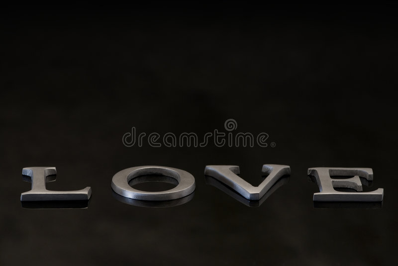 слово влюбленности стоковые фото