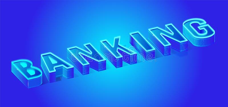 слово неонового знамени письма 3D равновеликое креня бесплатная иллюстрация
