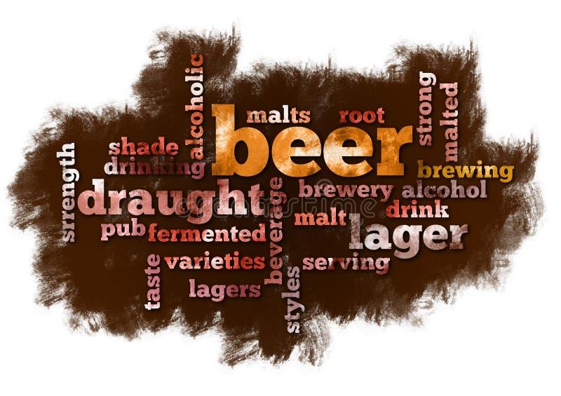 слово облака пива бесплатная иллюстрация