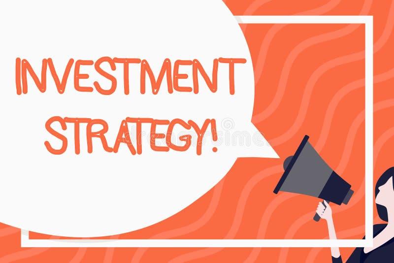 Слово писать инвестиционную стратегию текста Концепция дела для систематического плана для того чтобы размещать пробел приемлемых иллюстрация штока