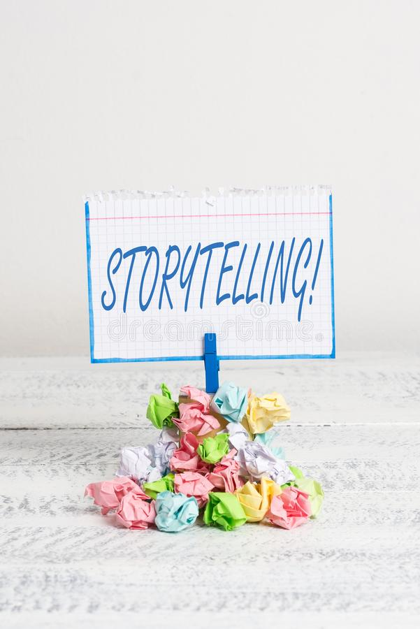 Слово писать искусство рассказа текста Концепция дела для деятельности писать рассказы для опубликовывать их в публику стоковое фото