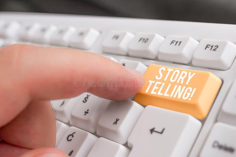 Слово писать искусство рассказа текста Концепция дела для деятельности писать рассказы для опубликовывать их в общественный белый стоковое фото