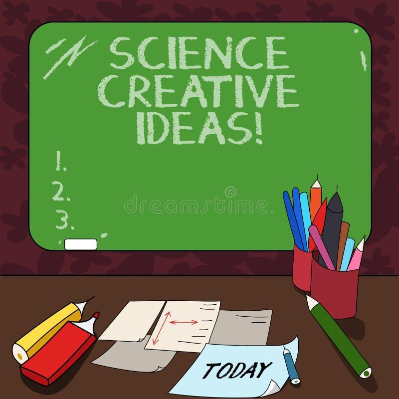 Слово писать науке текста творческие идеи Концепция дела для поступка поворачивая новых и с большим воображением идей в реальност бесплатная иллюстрация