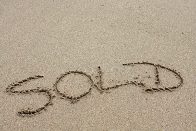 слово пляжа иллюстрация вектора