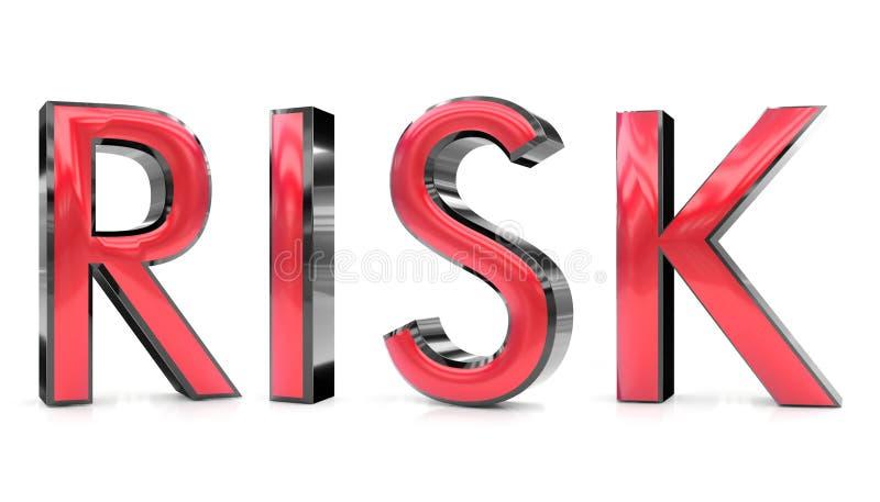слово риска 3d бесплатная иллюстрация
