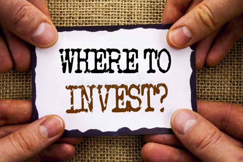 Слово, сочинительство, текст где проинвестировать вопрос Доход схематического фото финансовый инвестируя богатство совета плана н стоковые фото