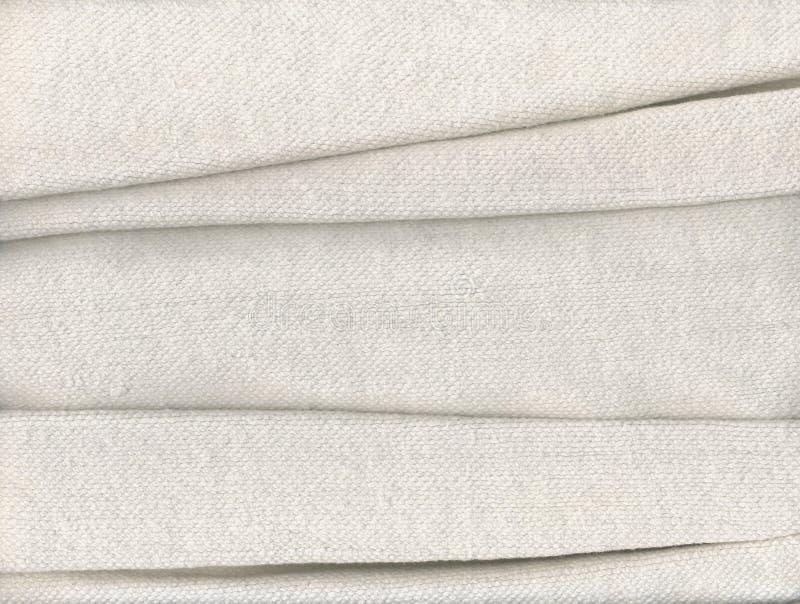 сложенная хлопко-бумажная ткань стоковые фото