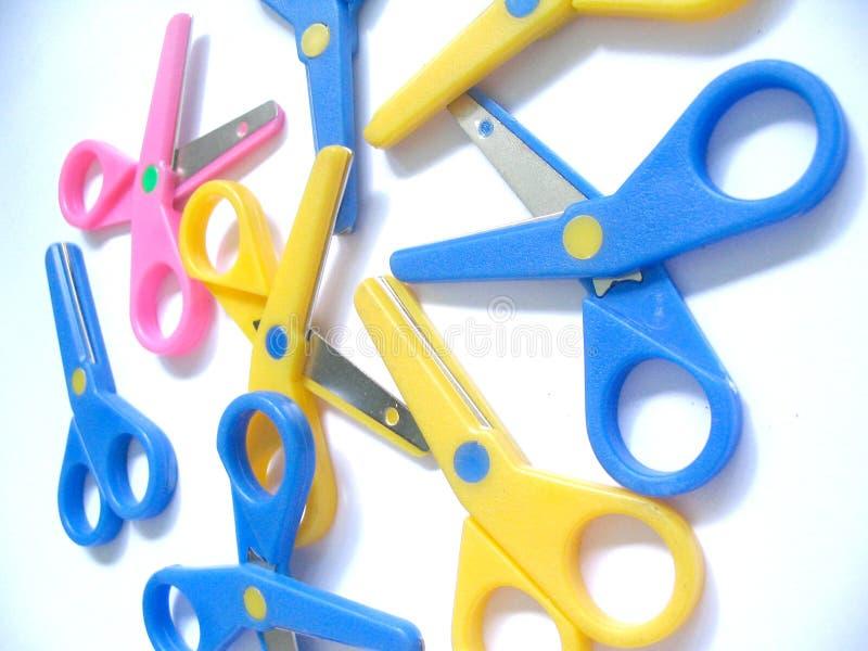 сложите ножницы стоковые изображения rf
