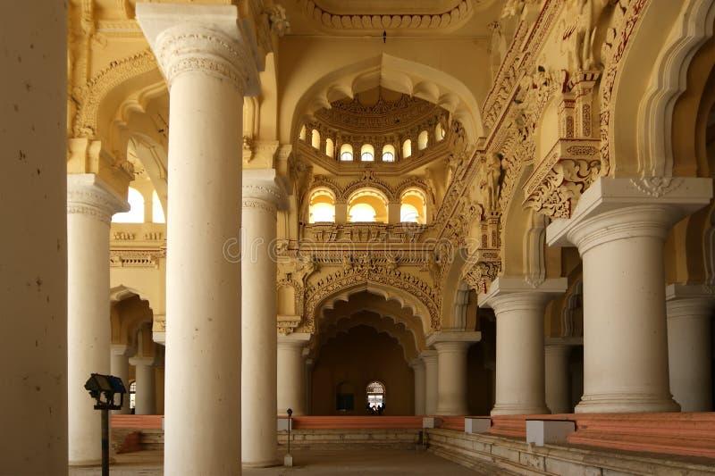 сложное mahal nayakkar thirumalai дворца стоковые фотографии rf