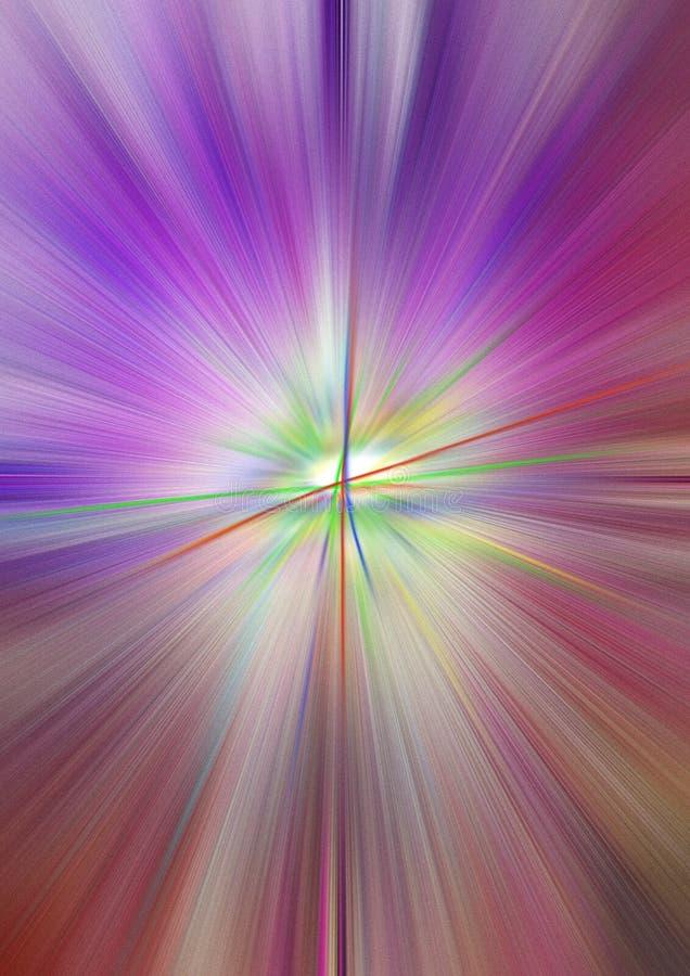 Сложный процесс духовной неги иллюстрация штока