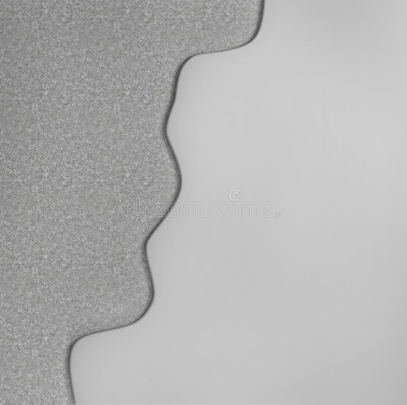 Слои пола Само-выравнивать пол иллюстрация вектора