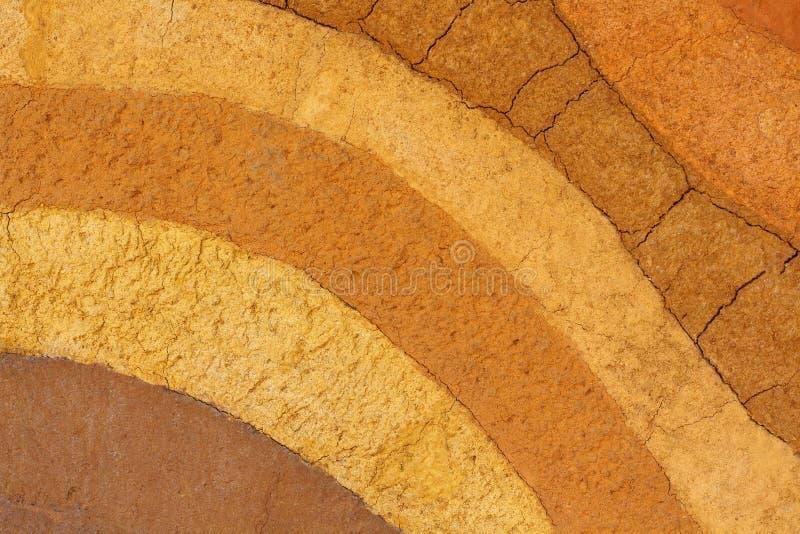 Слои текстуры земли стоковая фотография rf