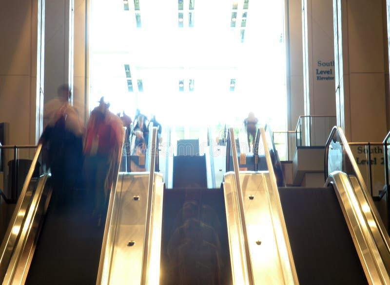слои эскалатора стоковое изображение rf