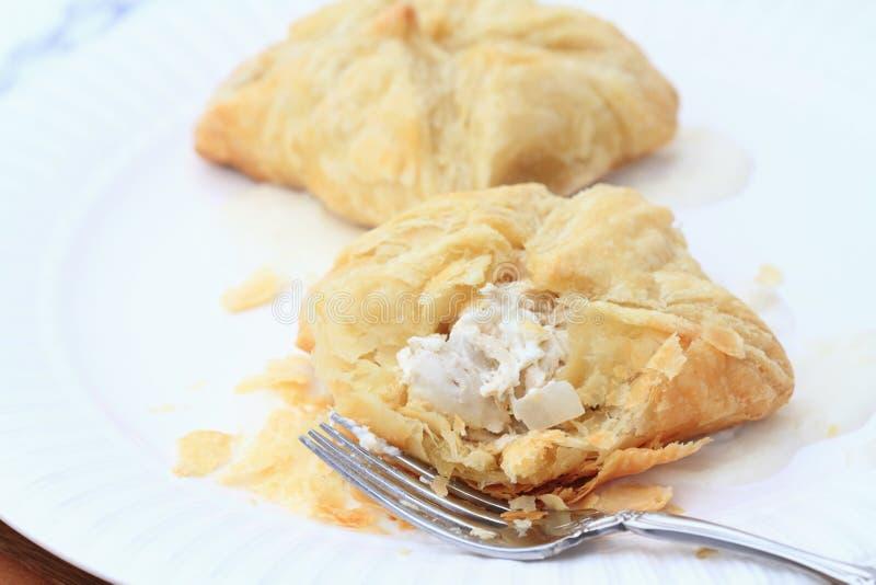 слойка печень цыпленка стоковая фотография