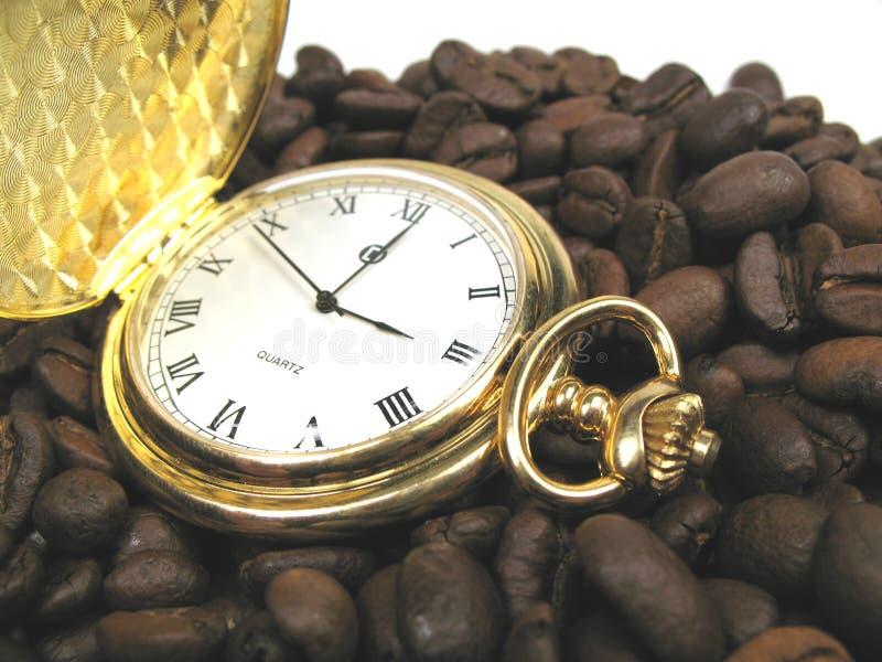 сломайте время кофе стоковая фотография rf
