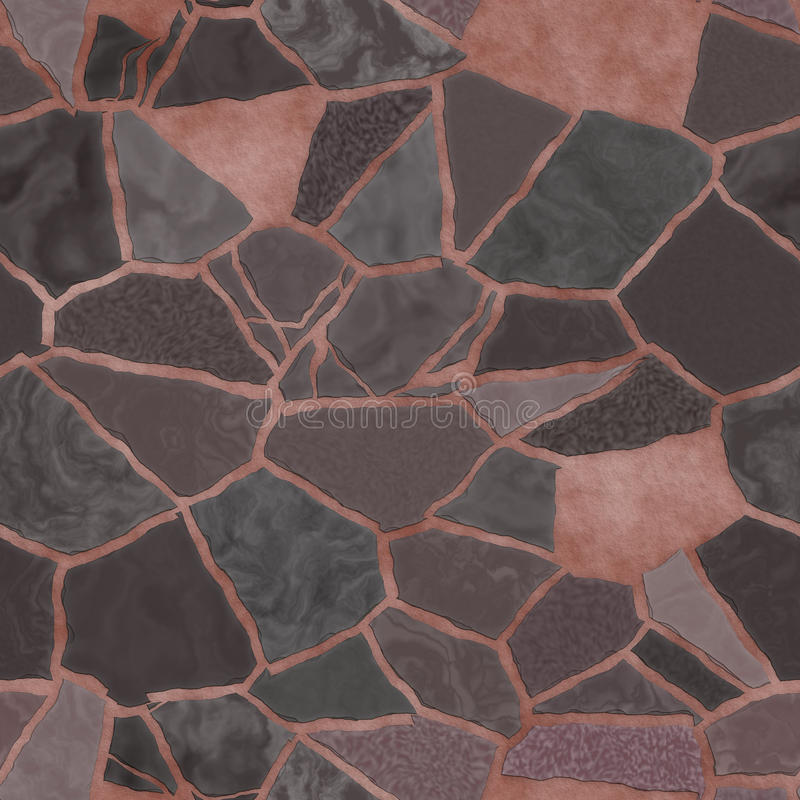 сломанная предпосылкой текстура мозаики бесплатная иллюстрация