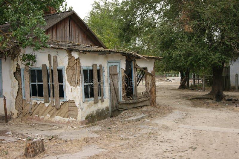 сломленная дом стоковые изображения rf