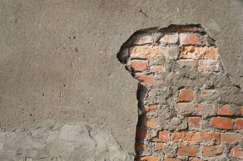 сломленная стена стоковые фотографии rf