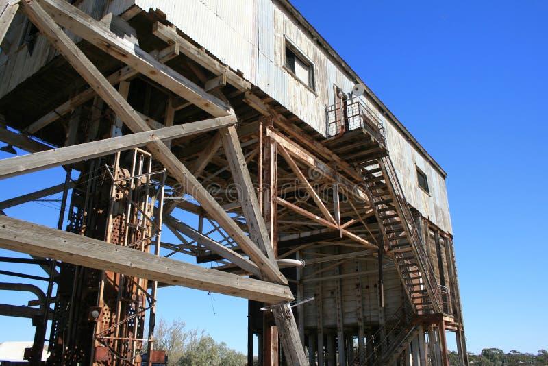сломленная Disused шахта холма Стоковое Фото