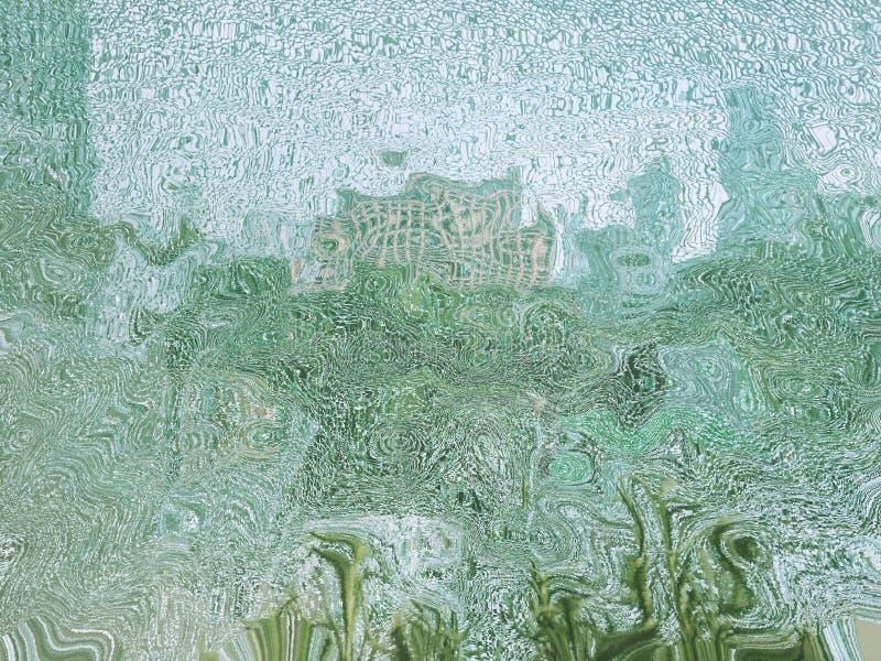 Сломленное скольжение стекла дает вам сюрприз! стоковое изображение rf