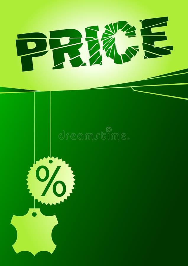 сломленное цена иллюстрация штока