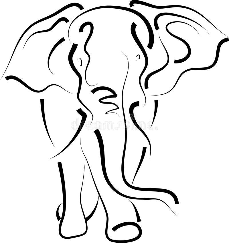 слон бесплатная иллюстрация
