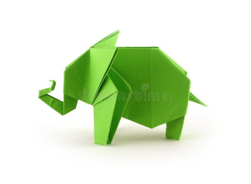 Слон Origami иллюстрация штока
