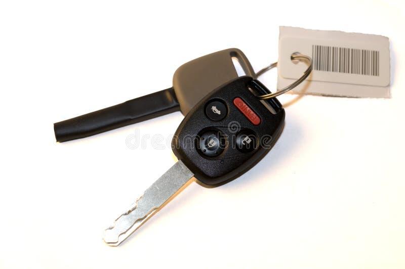 слуга бирки ключей автомобиля новая стоковые фото