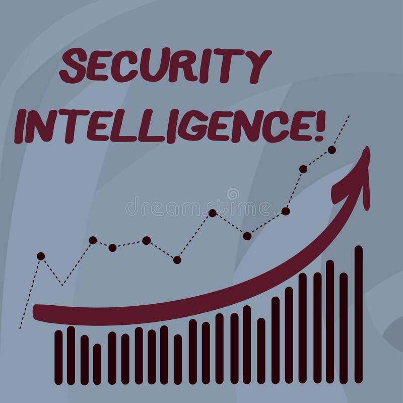 Служба безопасности текста почерка Смысл концепции защищая организац бесплатная иллюстрация
