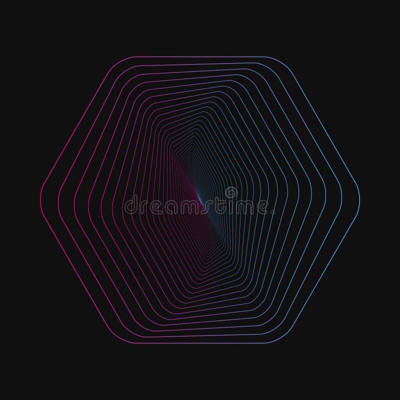Случайные хаотические линии которые создают реальные формы Хаосы делают по образцу, абстрактная текстура Заказ против концепции х бесплатная иллюстрация