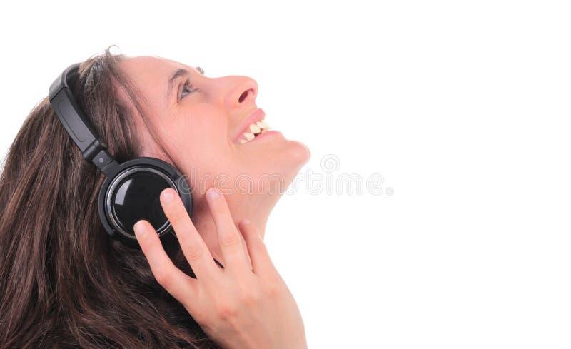 слушая нот к стоковое фото rf