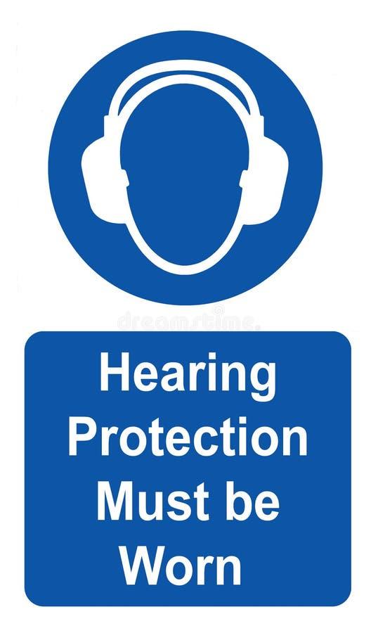 Слыша защиту необходимо нести стоковые изображения rf