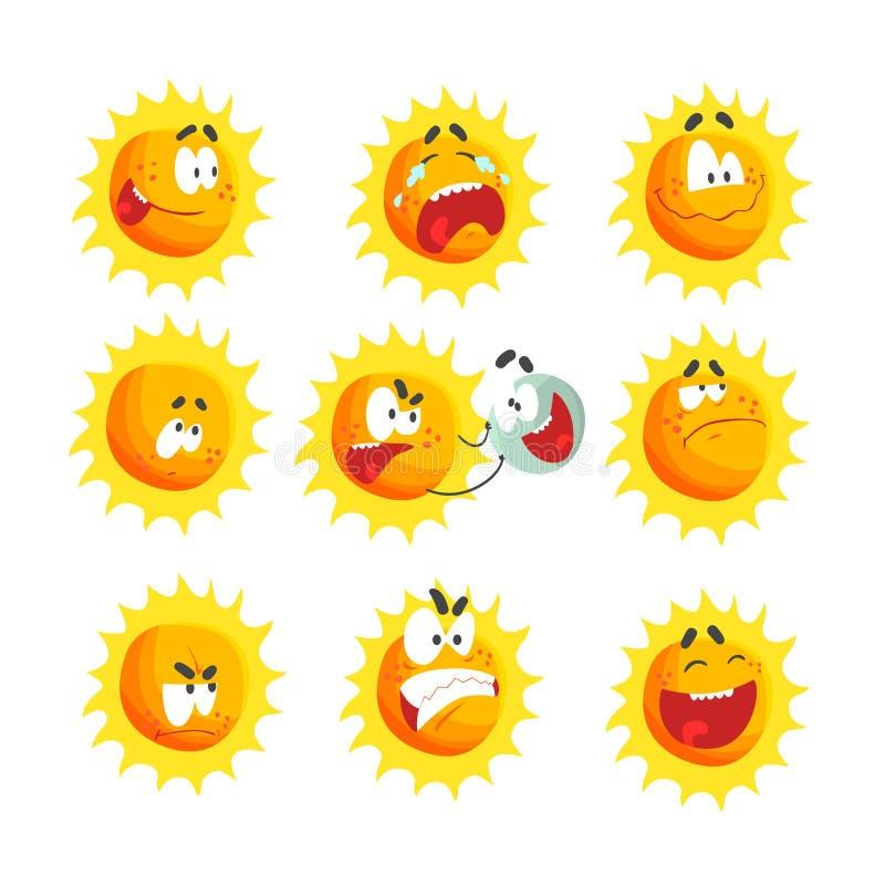 Солнышки в разном настроении картинки