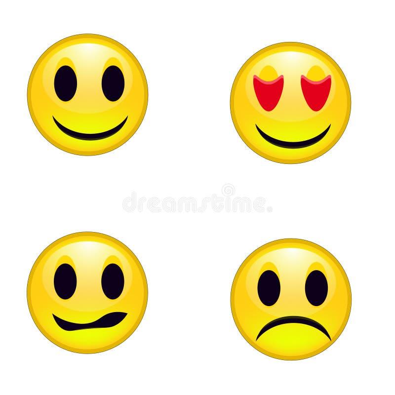 Смайлики Smileys стоковое изображение