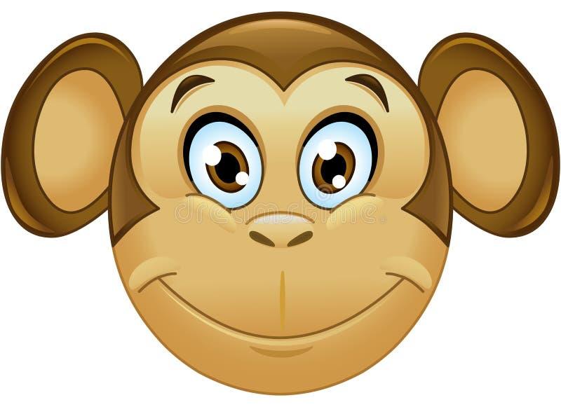 Смайлик обезьяны бесплатная иллюстрация