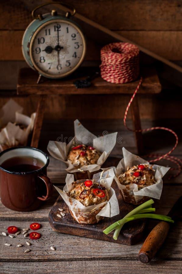 Смачные булочки картошки стоковая фотография rf