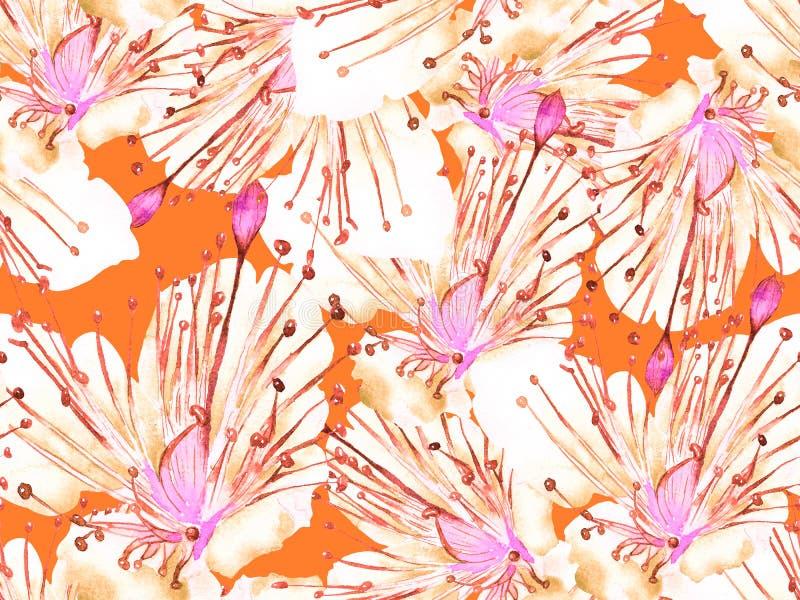 Смелый абстрактный цветочный узор стоковые фотографии rf