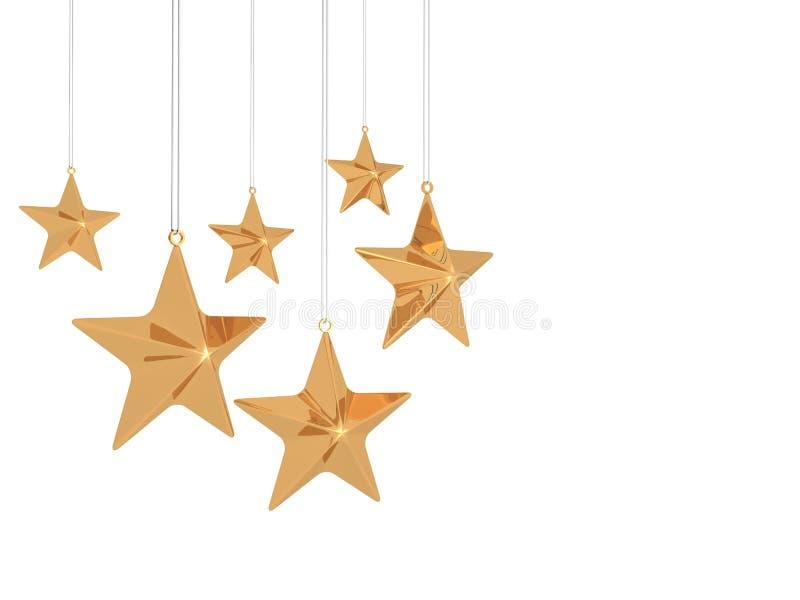 Смертная казнь через повешение звезды тучная золотая бесплатная иллюстрация