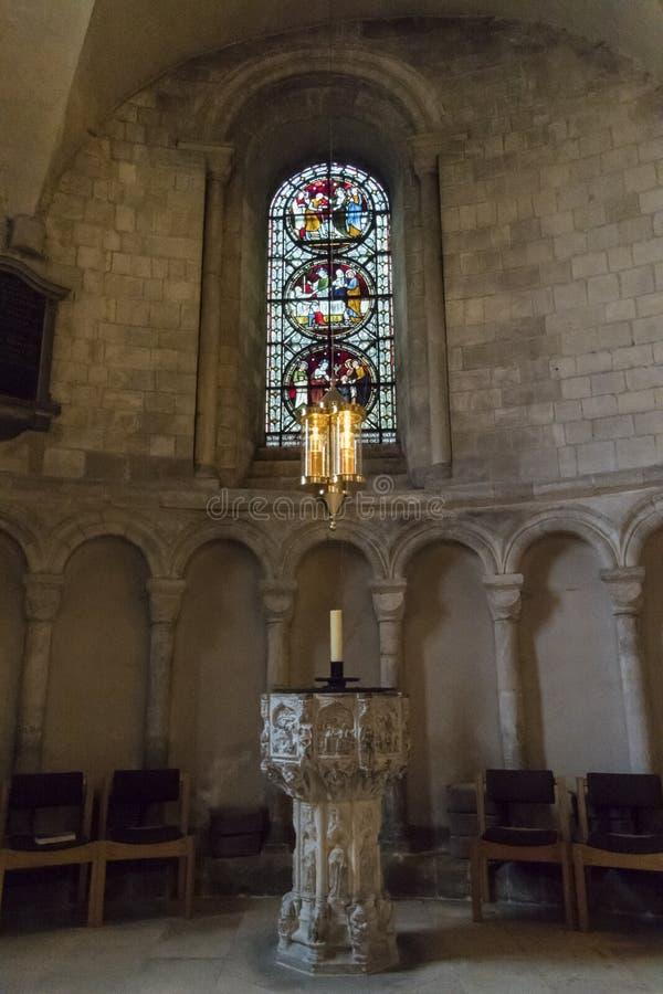 Смертная казнь через повешение Chrismatory, собор Нориджа, Норфолк, Великобритания стоковое фото rf