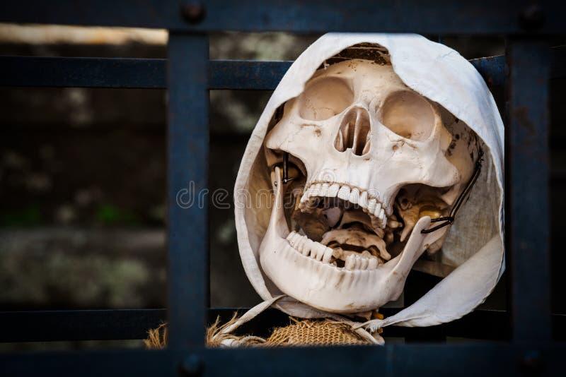 смерть Каркасный пленник мертвый стоковые фото