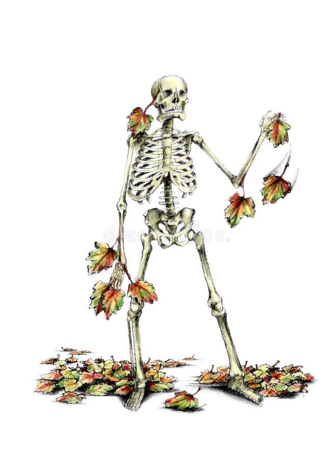 смерть последний сезон стоковое изображение