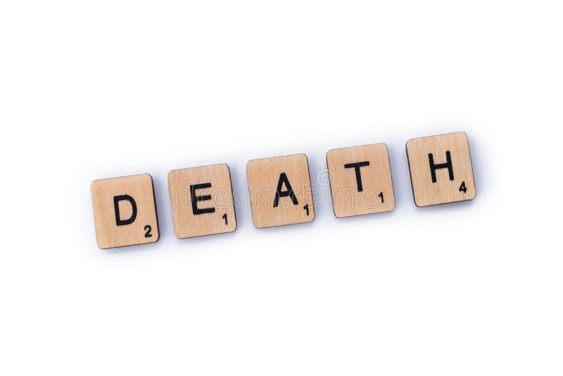 Смерть слова стоковые фото
