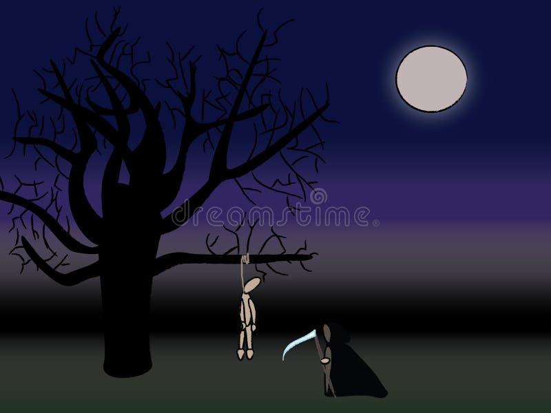 смерть бесплатная иллюстрация