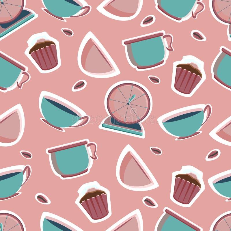 Смеситель, blender, масштабы кухни, шейкер, таймер, шары, плиты для магазина пекарни Инструменты для создателя печенья бесплатная иллюстрация