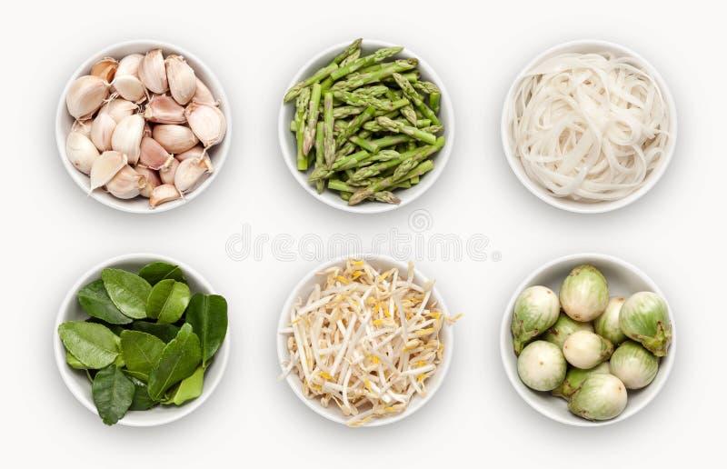 Смесь с много различных разнообразий ингридиентов стоковые изображения
