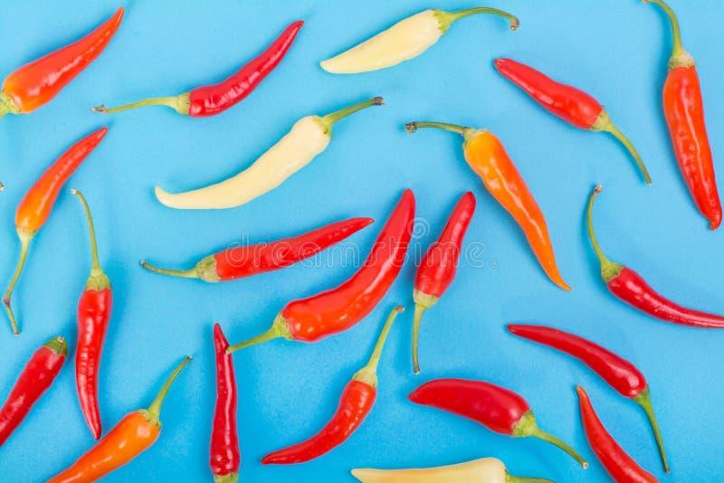 Смешанная предпосылка перца chili цвета стоковое изображение