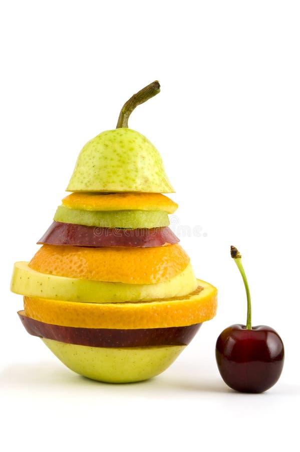 Смешанные плодоовощ и вишня Бесплатное Стоковое Фото
