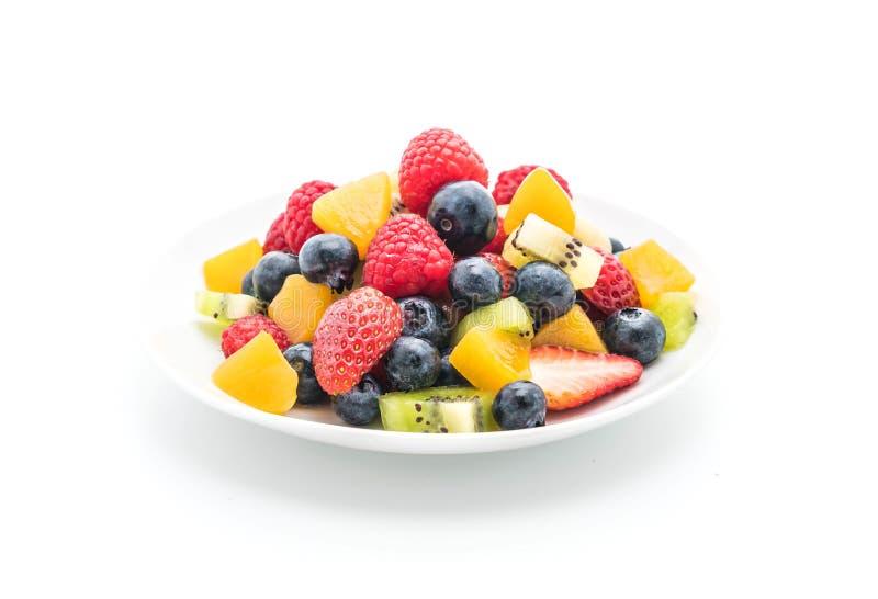 смешанные свежие фрукты (клубника, поленика, голубика, киви, mang стоковые изображения