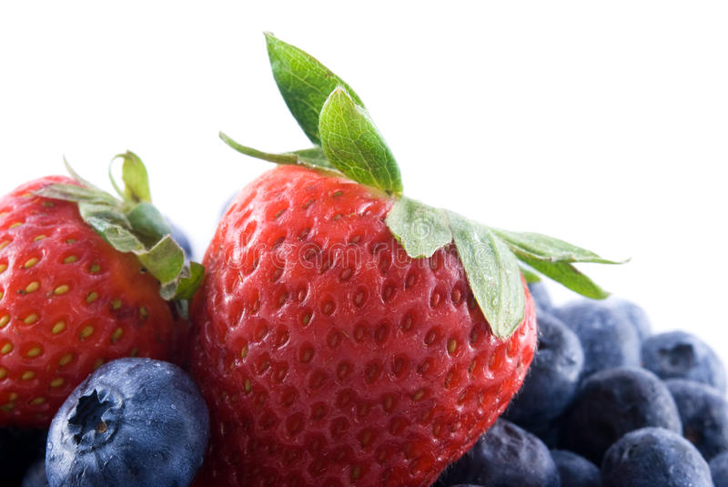 смешанные ягоды стоковая фотография rf